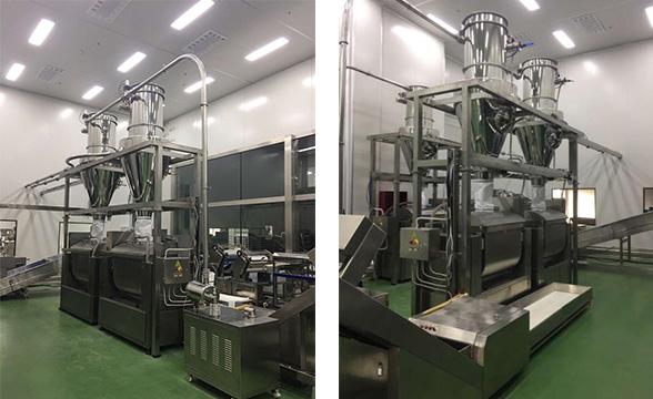 flour feeding system