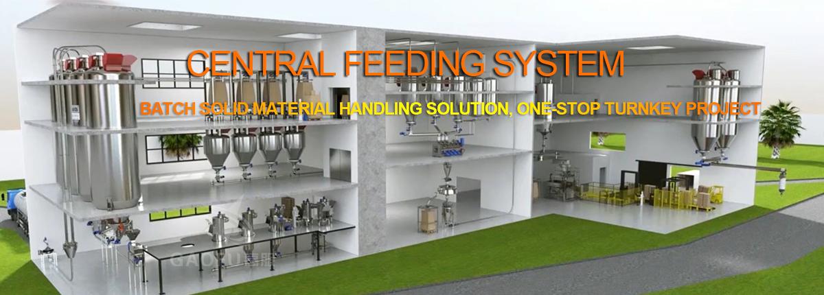 Central feeding system